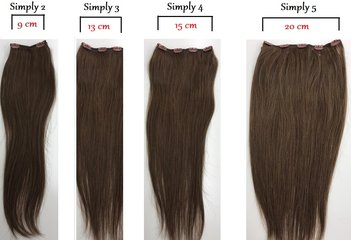 Yes Hair Simply Clips In