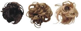 Haarstukjes met elastiek