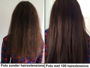 Voor en na foto's