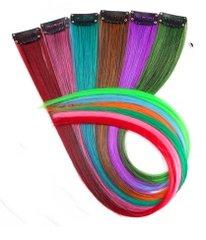 Gekleurde clips in