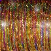 Gemengde Tinsel - Brights Kleuren  100 stuks
