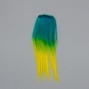 Tie Dye easy hair clip in Ocean Groen Geel (outlet)