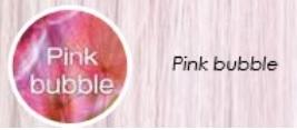 Pastel pink bubble