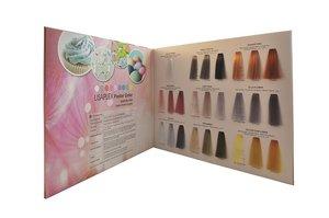 Lisaplex pastel kleurenkaart