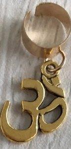 Haar ring breed 30 Goud (1 stuk)