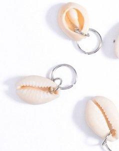 Haar ring Schelp zilver (5 stuks)