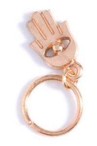 Haar ring Hand Goud (5 stuks)