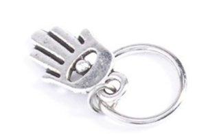 Haar ring Hand Zilver (5 stuks)