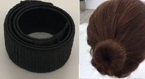 Haarstrip - knot maker  ZWART