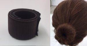 Haarstrip - knot maker  DONKER BRUIN