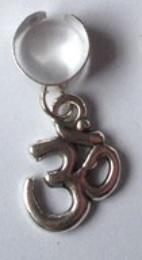 Haar ring breed 30 Zilver (1 stuk)