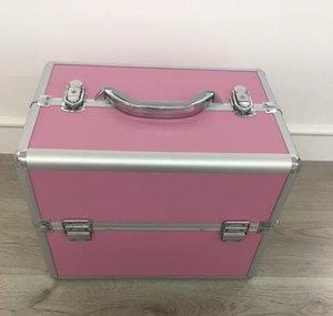 Nagel koffer roze