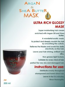 Kleral - Rich Argan & Shea Butter Mask 500 ml