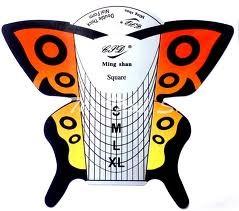 Sjablonen Butterfly 100 stuks