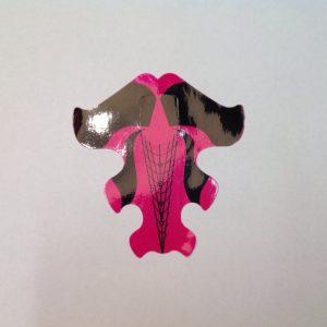 Sjablonen Pink 300 stuks