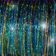 Gemengde Tinsel - Peacock Kleuren  10 stuks