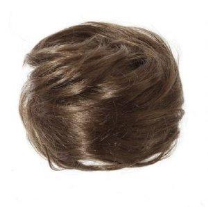 Instant Bun - haarknot 100% echt haar #4 Chestnut Brown