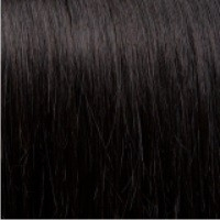 DS hairextensions 51 cm Body Wave kl: 1B Black Brown