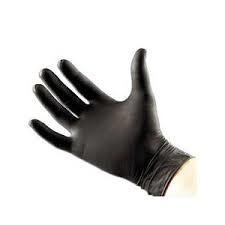 Nitril Handschoen Black100st  maat M