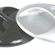Spiegel rond zilver