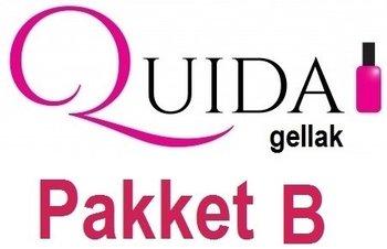 Quida Gellak Pakket B inclusief UV lamp