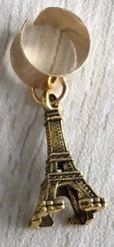 Haar ring breed eifeltoren Goud (1 stuk)