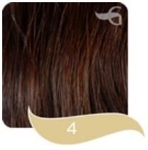 Great Hair Tape Extensions 40 cm #4 Donker Kastanje