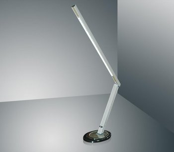 Tafellamp met led verlichting met voetstuk