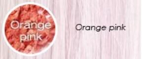 Pastel orange pink