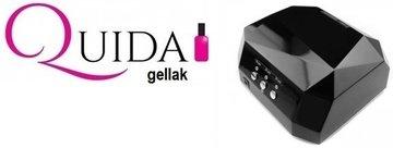 Quida Gellak Pakket met CCFL LED & UV Lamp