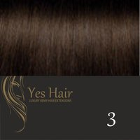 Yes Hair Extensions Gold Line 52 cm NS kleur 3