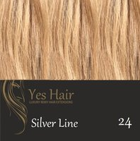 Yes Hair Extensions Silver Line 30 cm NS kleur 24