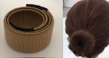 Haarstrip - knot maker  GOUD