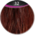 Great Hair weft 50 cm breed, 50 cm lang KL: 32 - intens mahonie