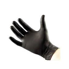 Nitril Handschoen Black100st  maat S