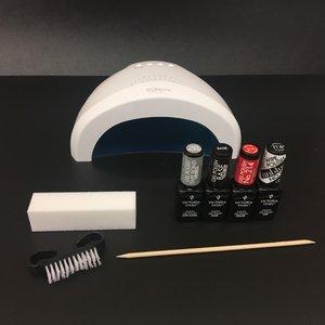 Basis pakket gelpolish VV met 5 seconden Led lamp