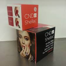 CND Shellac kubus groot en klein