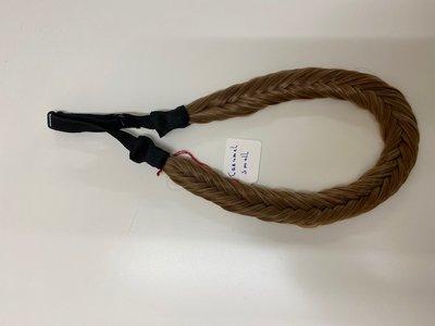 vlecht haarband - Caramel Small
