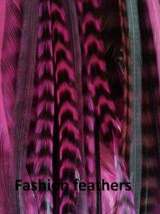 Feather bundel Mix Pink