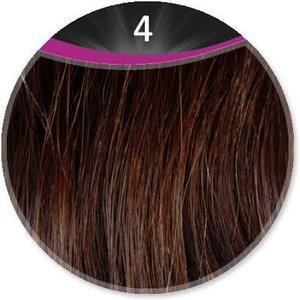 Great Hair extensions/55-60 cm stijl KL: 4 - donker kastanje