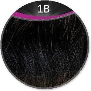 Great Hair weft 50 cm breed, 50 cm lang KL: 1B - zwart
